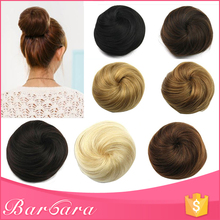 low MOQ most popular hair buns pieces