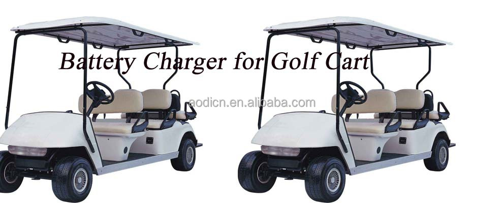golf cart battery charger of club car,HF power supply 48v ,intelligent lead-acid battery charger