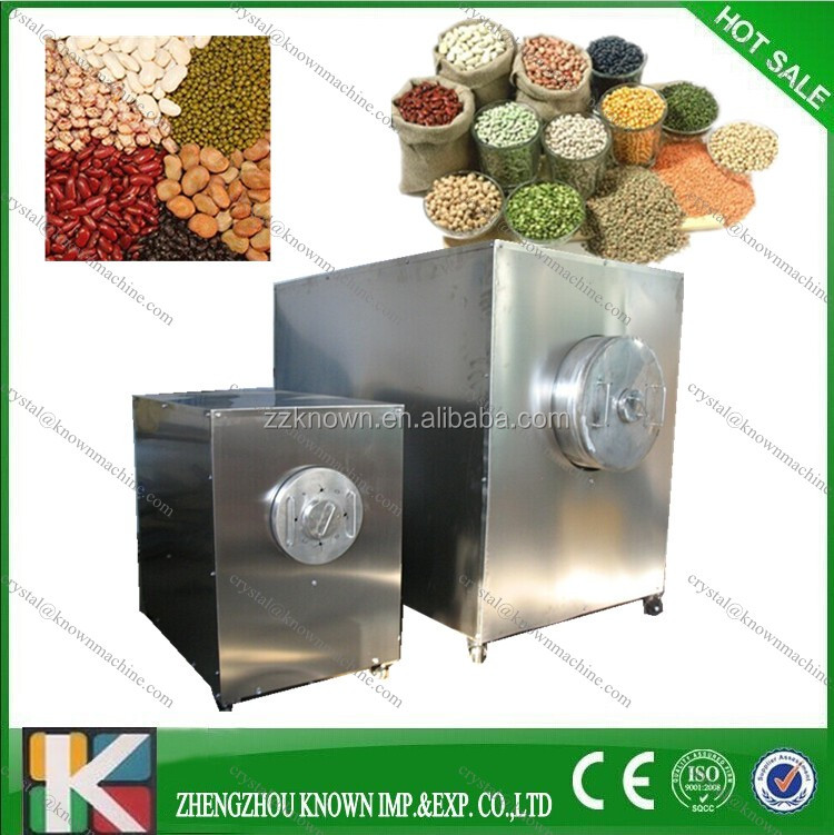 capacity electric100kg drum type chestnut roaster machine with CE