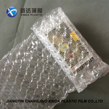 Clear LDPE Material Air Cushion Bubble Film Wrap for Express Protect