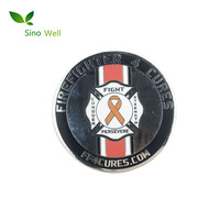 Custom Filling Color Enamel challenge coin with low price