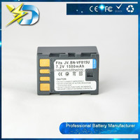 High Performance 1500mah battery for JVC camera BN-VF815U Digital video camera battery