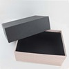 Black Matte Lid Paper See Through Wholesale Jewelry Box Custom Jewelry Box