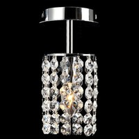 Free shipping 2016 Modern Crystal Chandelier Lighting with K9 Crystal D100mm H230mm GRC-P01N