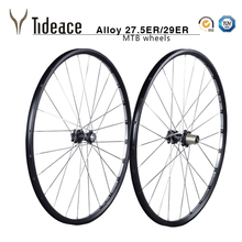 "Aluminum alloy mountain bike wheels for 26"" 29"" size MTB bicycle wheelset"