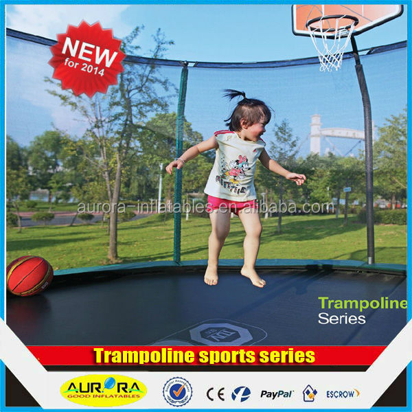 Outdoor Trampoline Fitness Exercise Equipment/Gymnastic Trampoline