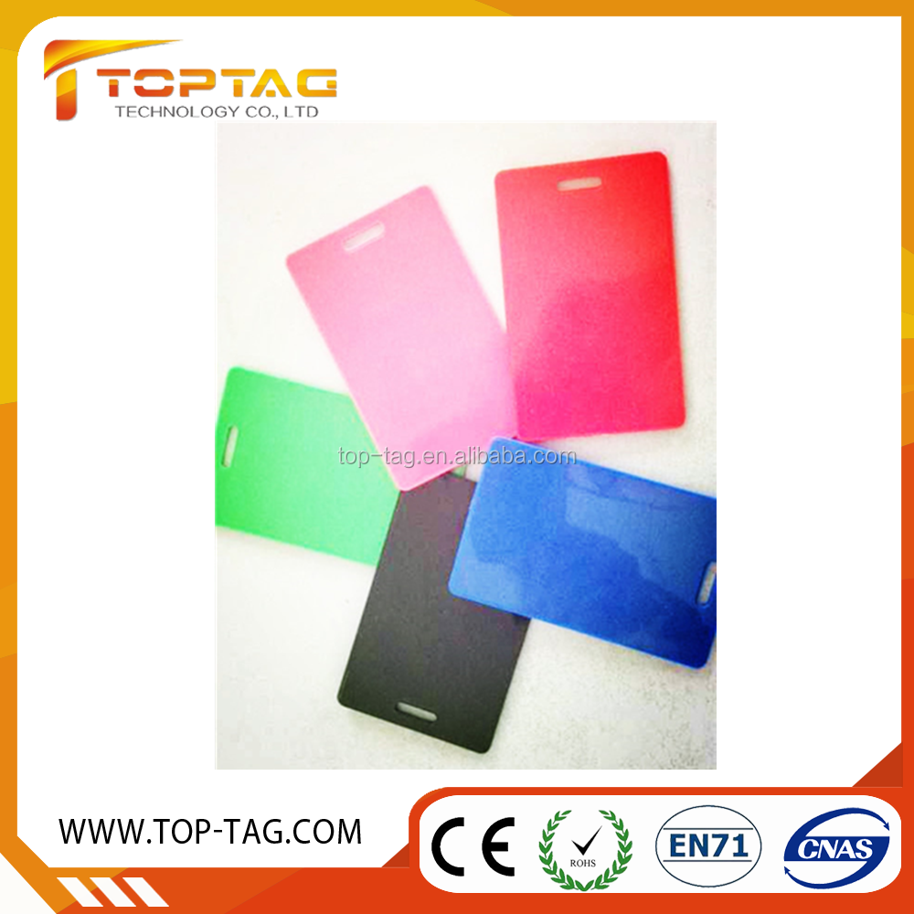 cheap price colorful mango RFID tk4100 chip card