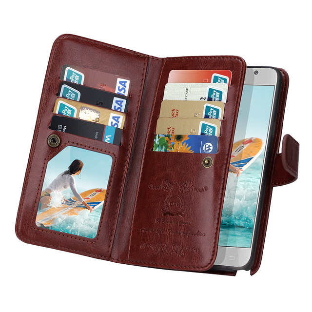 BRG Newest fashion Multifunction phone case for Samsung Note 5 Cover,Flip Leather case for Samsung Galaxy Note 5 cover