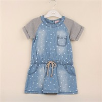Widely Used Factory Direct Eco-Friendly Softtextile Baby Girls Party Wear Dress