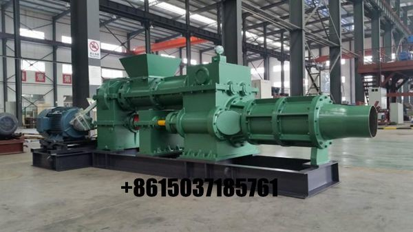 Small clay vacuum extruder pug mill for ceramic industry
