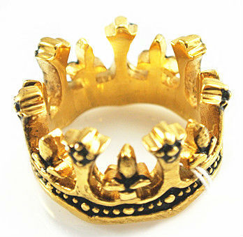 RH042 Fashion Lovely Alloy Imperial Crown Ring