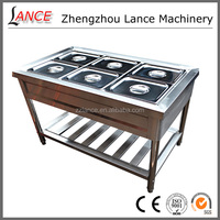 Factory sale customized fried chicken food display warmers with high quality