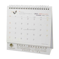 Wire-0 Binding Tear Off Calendar Printing 2016 / Monthly Full Printing 2016 table Calendar