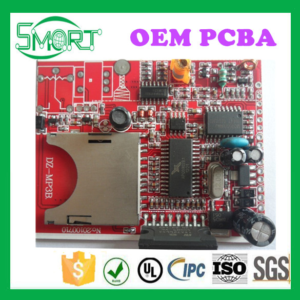 Smart Bes FR4 94vo Double Sided Rigid PCB in China Factory Multilayer PCB