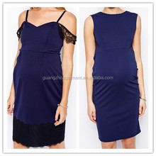 2014 Cowl back fashion women Maternity fit bodycon Dress cheap price made in china bulk Maternity dress