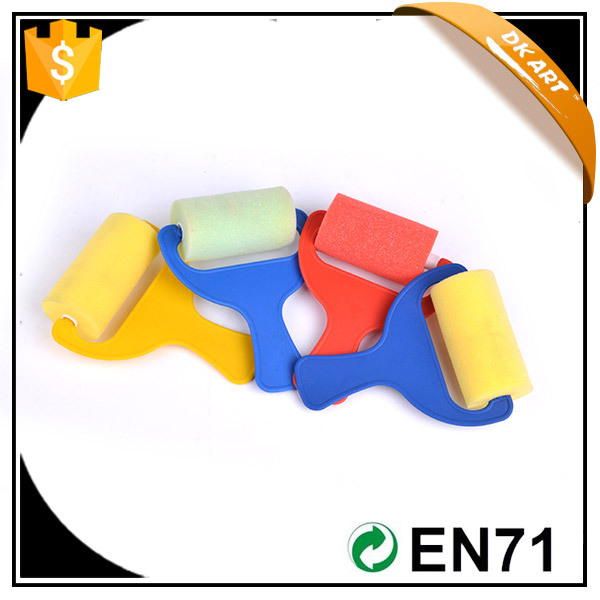 All-season performanc,factory supply, dia: 4cm width: 7.5cm, 4 pcs/opp bag,Sponge brush set
