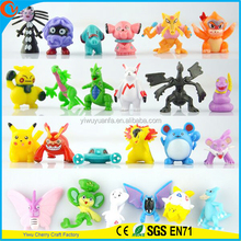 Cute Shape Fashionable Style Pokemon Cartoon Toy Stuffed Animal 144 designs Mini Doll Capsule Toy