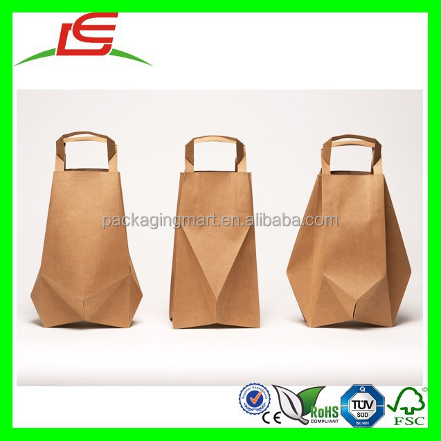 N457 Shenzhen Manufacture Creative Food Paper Bag Packaging Design