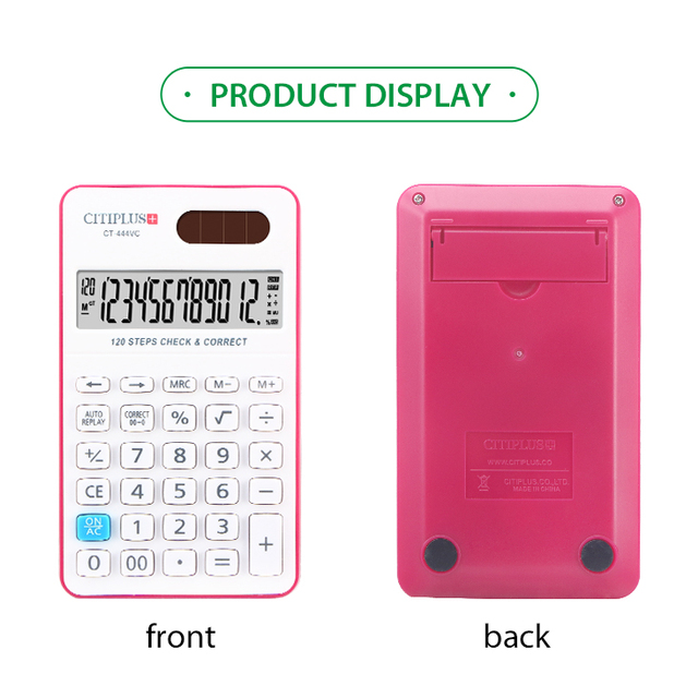 CITIPLUS CT-444VC manufacturer wholesale calculator with logo