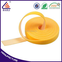 Polyester Low Profile Hook And Loop Tape Colour Elastic,Bags And Eco-Friendly Hook And Loop Tape