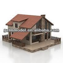 NEW mini scale model container house applied to architecture scale model / Rendering model making