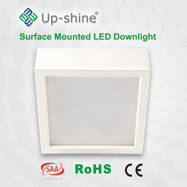 15W SMD square white design 150mm led down light with CE ROHS SAA