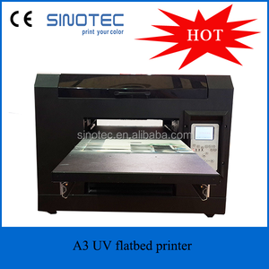 The latest A3 UV led flatbed printer &6 color high quality inkjet UV printing machine