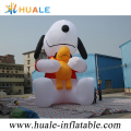 huale inflatable cartoon snoopy, outdoor decoration cartoon inflatable dog snoopy
