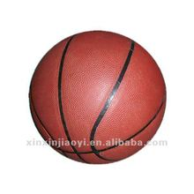 Promotional children mini PU material basketball