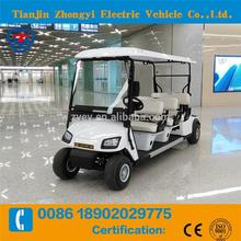 6 seater 6 person battery powered golf kart made in China