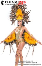 ZPDECOR Wholesale Choosed Quality Natural Pheasant and Rooster Tail Feathers for Carnival Headpiece Design
