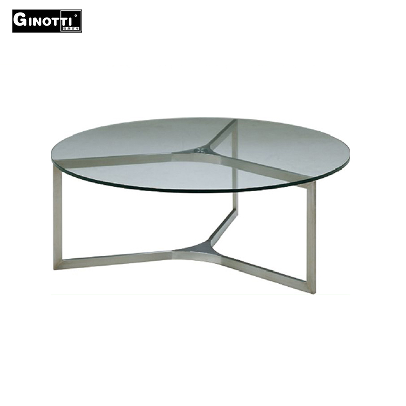 Small Round Transparent Fiber Glass Coffee Table Buy Round Glass Coffee Table Small Round