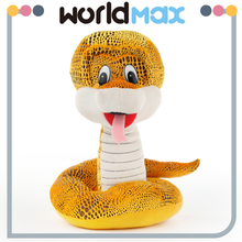 New Arrival Graceful Yellow Snake Various Oem Baby Toy