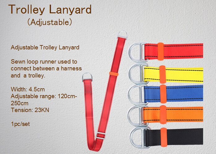 CTSC Heavy Duty ZipLine Cable Trolley Pulley is with MOST Complete Accessories for Great Fun, Exciting and Challenging