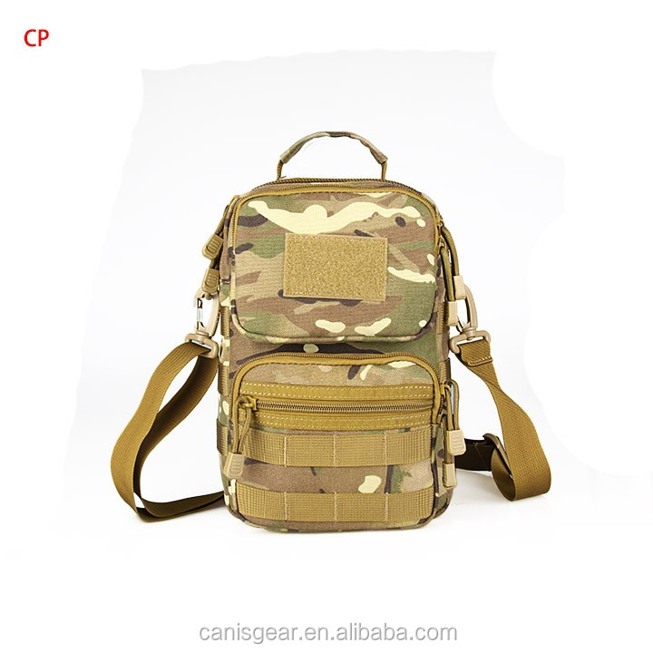 Single Strap Shoulder Musette Walking Riding Mini Army Bags Military Molle Backpack Tactical Bag