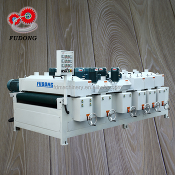 Professional wood texture wire drawing machine with CE approve