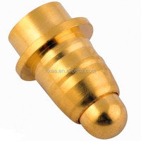 Customized copper/brass spring contact pin connector,probe pin,pogo pin