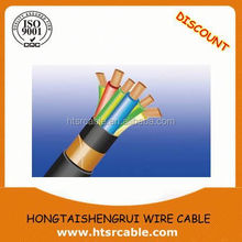Copper tape or Copper Braid shield/HFCO Cable F-CVV-SB Cable 0.6/1kv F-CVV-SB 3C-6mm2 For Control Circuits in underground