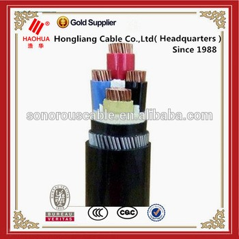 NO.3173- 0.6/1kV Low Voltage Copper or Aluminium conductor XLPE SWA PVC underground 120mm power cable
