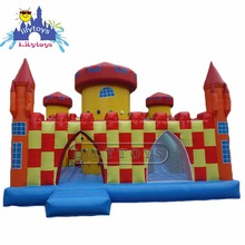 0.55 pvc commercial jumping castle inflatable mini combo jumper, cheapbouncy castle prices