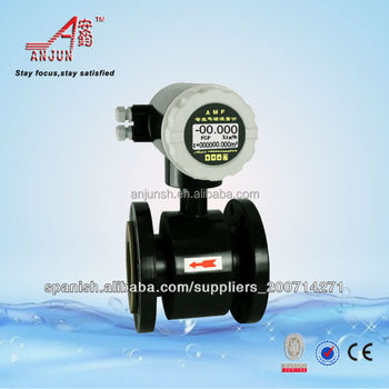 digital magnetic food flow meter