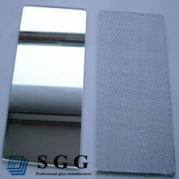 Top quality safety sliver mirror glass sheet CATI CATII 2mm 3mm 4mm 5mm 6mm