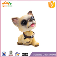 Promotional Funny Cheap Custom Polyresin Custom Dog Bobble Head Wholesales