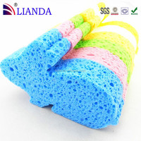 Factory direct selling cheap price nature kids bath sponge