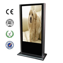 "42""floor stand lcd public display for ad"