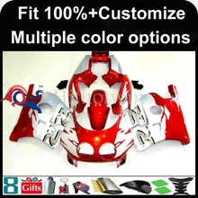 INJECTION MOLDING panels 1991 1992 1993 1994 1995 1996 1997 1998 1999 CBR250RR MC22 Plastic Fairing Kit Fit red silver For HOND