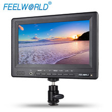 FEELWORLD High Brightness 7 inch DSLR Monitor with hdmi inputs hot shoe mount