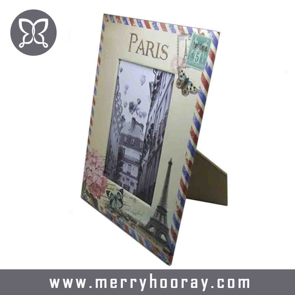 Factory wholesale school picture frames paper photo frame price
