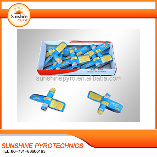 Sunshine brand W522A night flying plane fireworks or flying helicopter toy fireworks