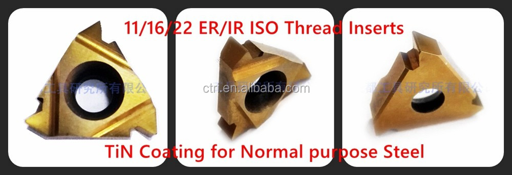 standard threading insert ISO thread cutting tool ISO inserts